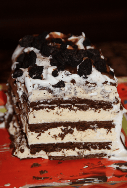 No bake ice cream sandwich cake recipe easy and fun the repo woman enjoy ccuart Image collections