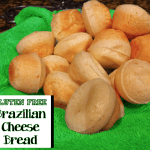 Gluten Free EASY Brazilian Cheese Bread Muffins Recipe!  Super YUMMY!!!