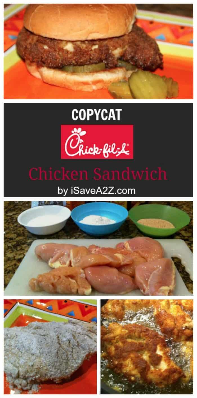 Copycat Chickfila Chicken Sandwich Recipe