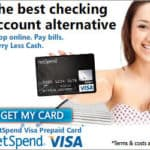Netspend PrePaid Debit Card:  Perfect bank account alternative for teenagers & college students!