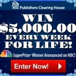 *Giveaway* Enter To WIN $5,000 EVERY Week For Life!!!