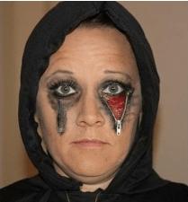 Halloween Zipper Face