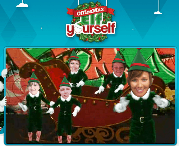 Officemax elf yourself create your own funny video for - Office max elf yourself free download ...
