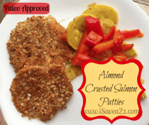 Paleo Diet:  Almond Crusted Salmon Patties Recipe
