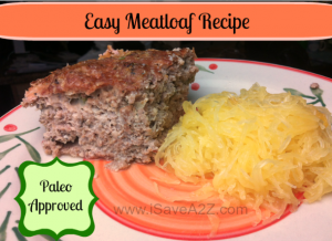 Paleo Friendly Meatloaf Recipe