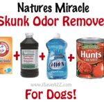 Natures Miracle Skunk Odor Removal for Dogs!