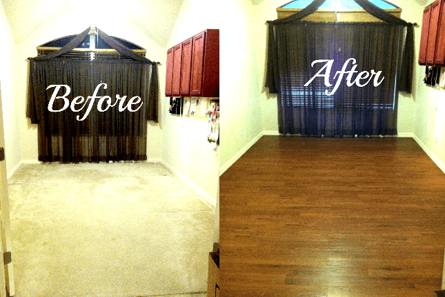 Luxury Vinyl Plank Flooring Diy Project Tutorial And Review