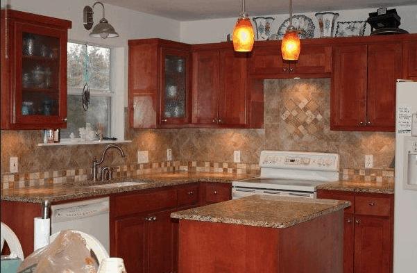 Simple Kitchen Backsplash Remodel Idea Isavea2z Com