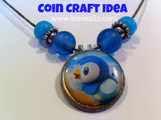 Coin Craft Necklace Or Keychain Pokemon Art Craft