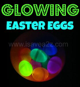 Glowing Easter Eggs