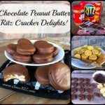 Chocolate Peanut Butter Ritz Crackers