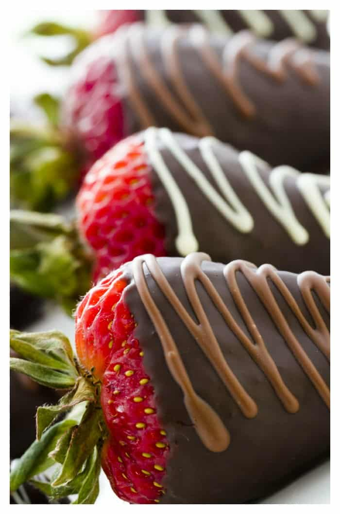 Chocolate Covered Strawberries Recipe - iSaveA2Z.com