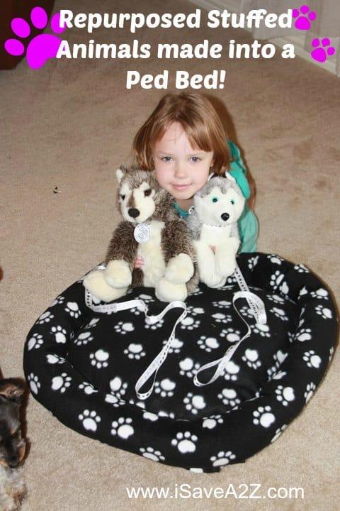 RePurposed Stuffed Animals Craft Project