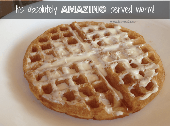 Cake Batter Waffles Recipe