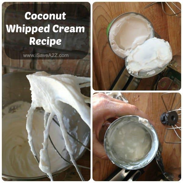Coconut Whipped Cream Recipe