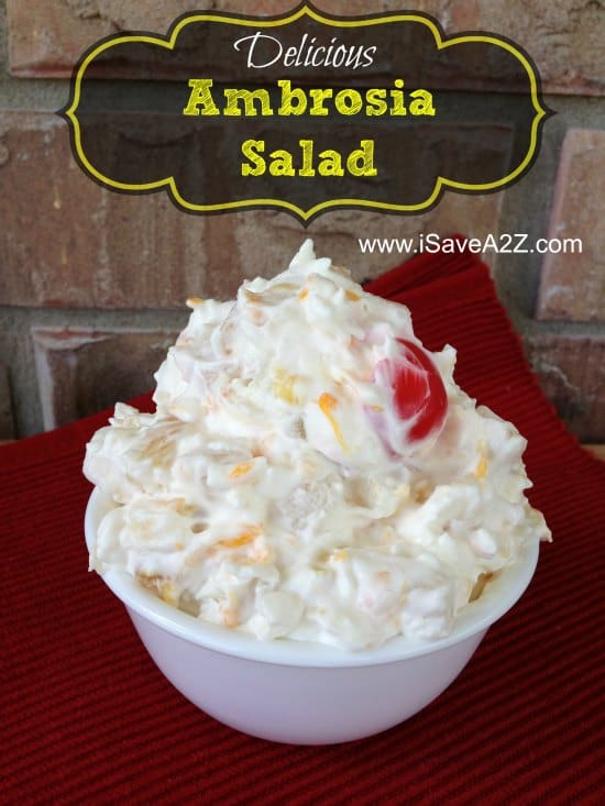 Cool Whip Recipes Ambrosia Salad Isavea2z Com