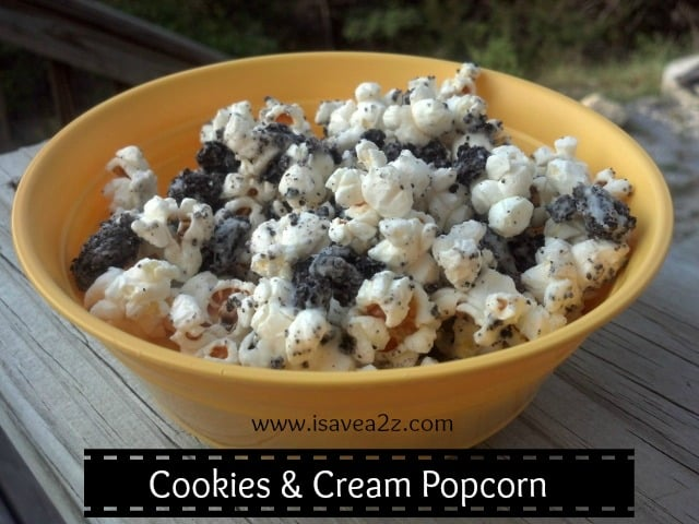 Cookies and Cream Popcorn Recipe! This is absolutely delicious!!