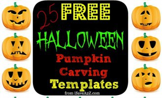 25 (Easy) Free Halloween Pumpkin Carving Templates
