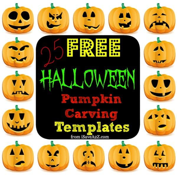 Free Halloween Pumpkin Carving Templates