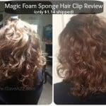 Magic Foam Sponge Hair Clip Review