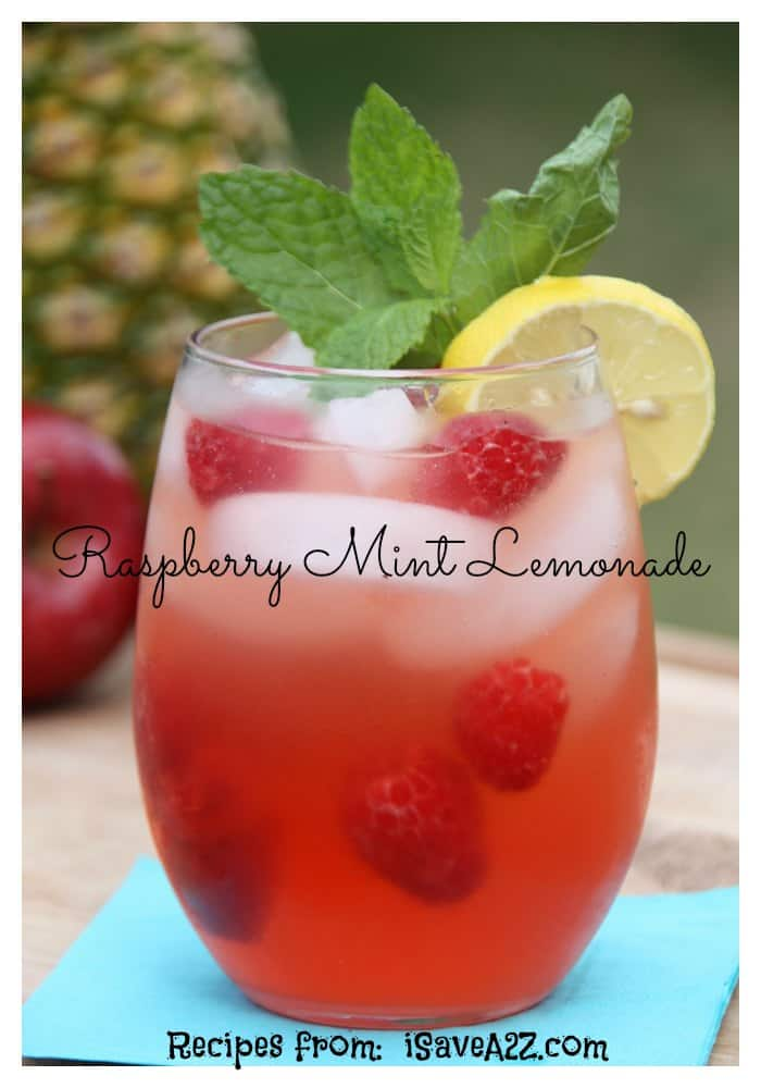 ... limeade with fresh mint blueberry buns with fresh mint raspberry