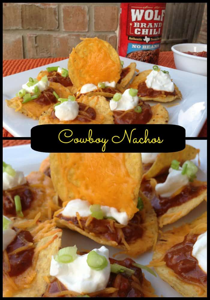 Cowboy Nachos Recipe & Wolf Brand Chili Giveaway #1TexasChili #ad ...