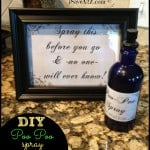 DIY Poo Poo Bathroom Spray (Printable Labels Included)