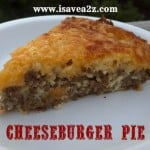 Easy Cheeseburger Pie Recipe