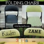 DIY: Drab To FAB Folding Chair