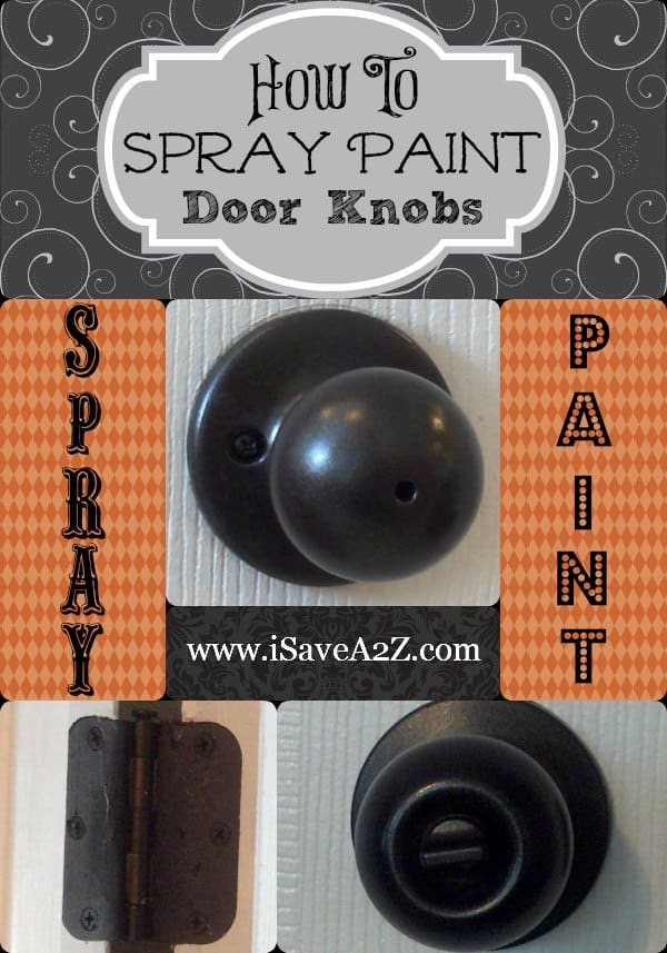 spray paint door knobs yes you can so easy you won 39 t On how to paint door knobs