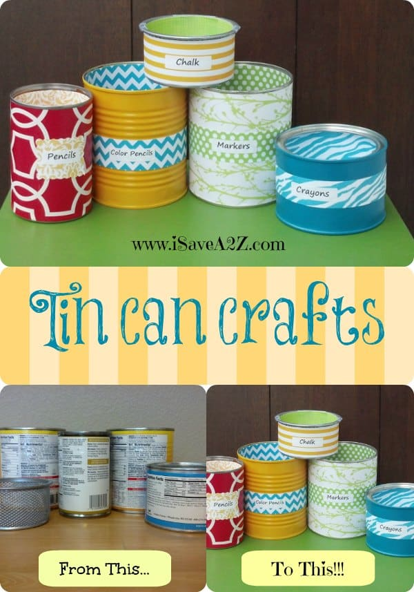 Top 10 teacher gift ideas it 39 s almost summer for Tin cans for crafts
