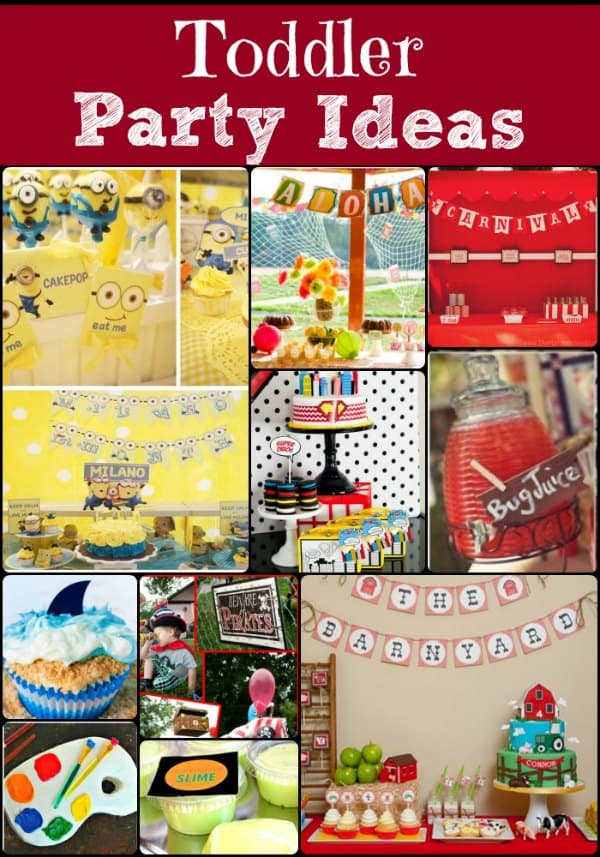 Toddler Party Ideas - Not Your Same Old Party!