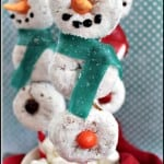 Donut Snowman on a Stick Recipe