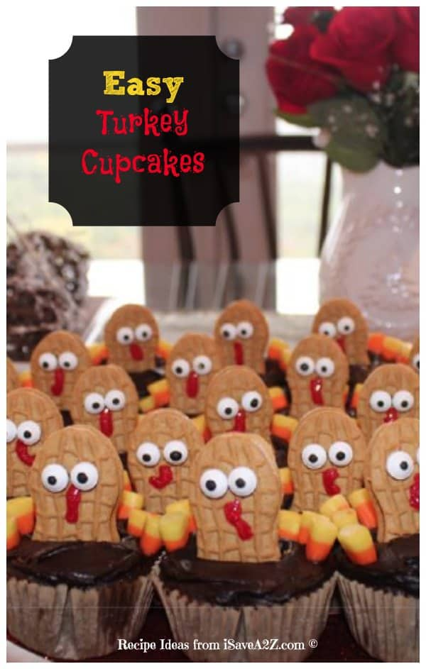 Easy Turkey Cupcakes Idea Isavea2z Com