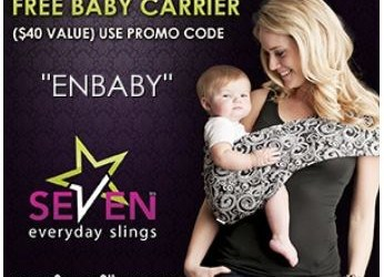 HOT!!!  Free Baby Carrier Sling!! $40 Value!!  (just pay shipping)