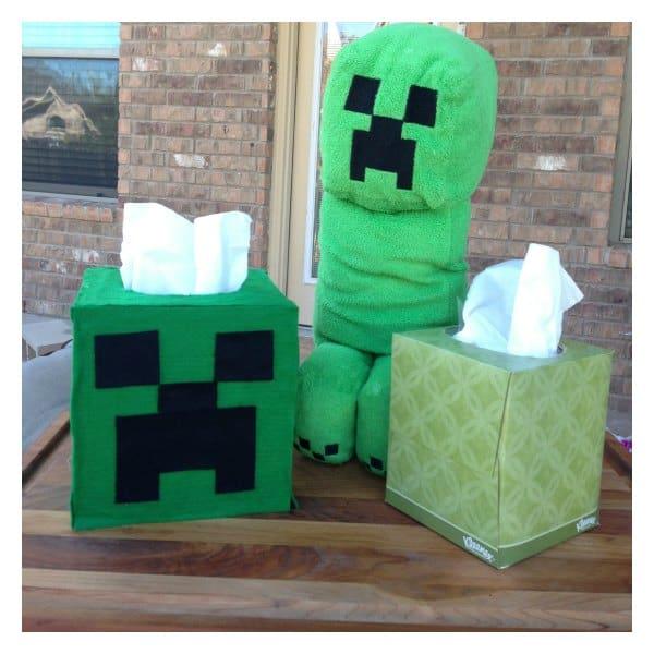 DIY Minecraft Creeper Face Tissue Box Cover #KleenexTarget #Pmedia & DIY Minecraft Tissue Box Cover #KleenexTarget #pmedia - iSaveA2Z.com Aboutintivar.Com
