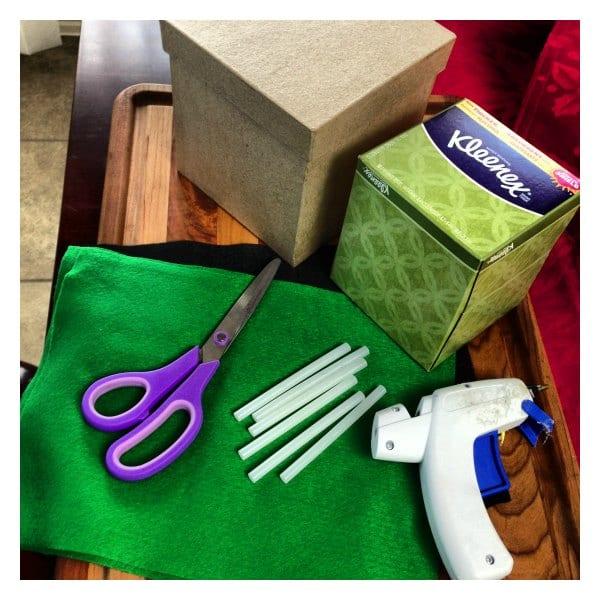 Minecraft Tissue Box Materials Needed #KleenexTarget #Pmedia