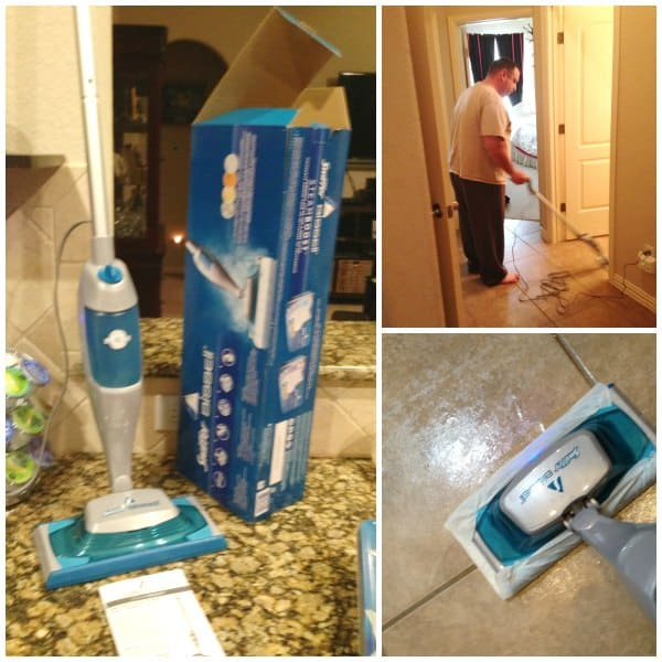 Cleaning My Kitchen Floors Just Got Easier Swiffer