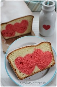 Easy Pound Cake Recipe for Valentines Day