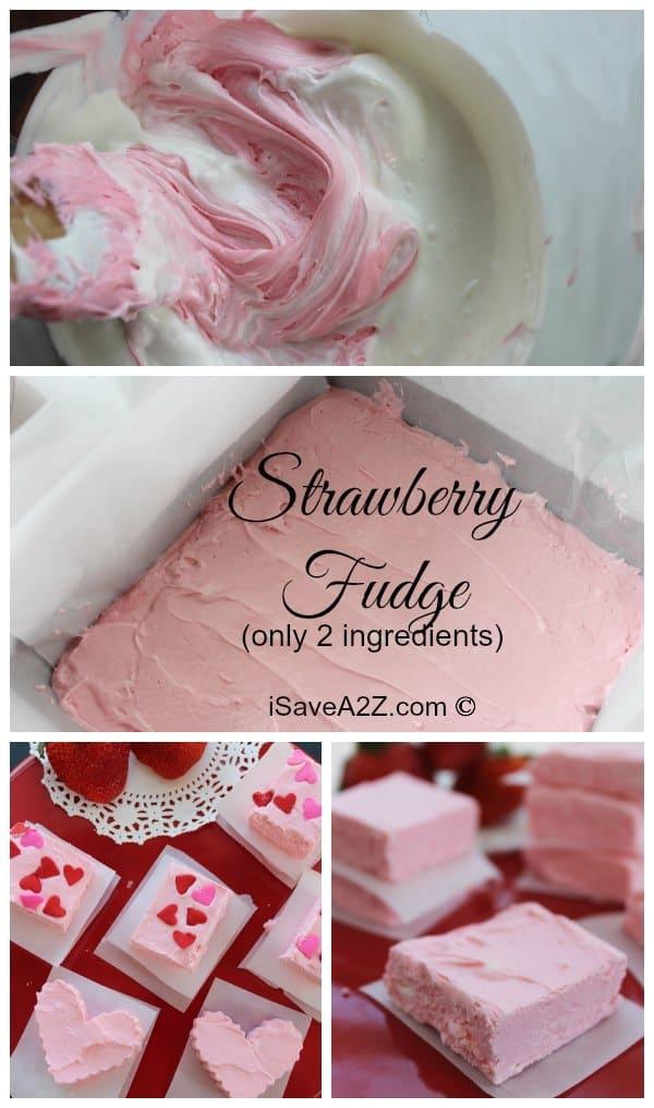 Easy Strawberry Fudge Recipe Isavea2z Com