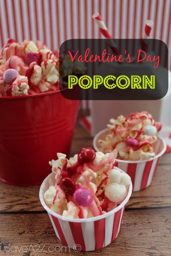easy valentines day popcorn recipe