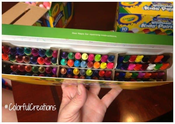 kids 3d art project idea using crayons isavea2z com