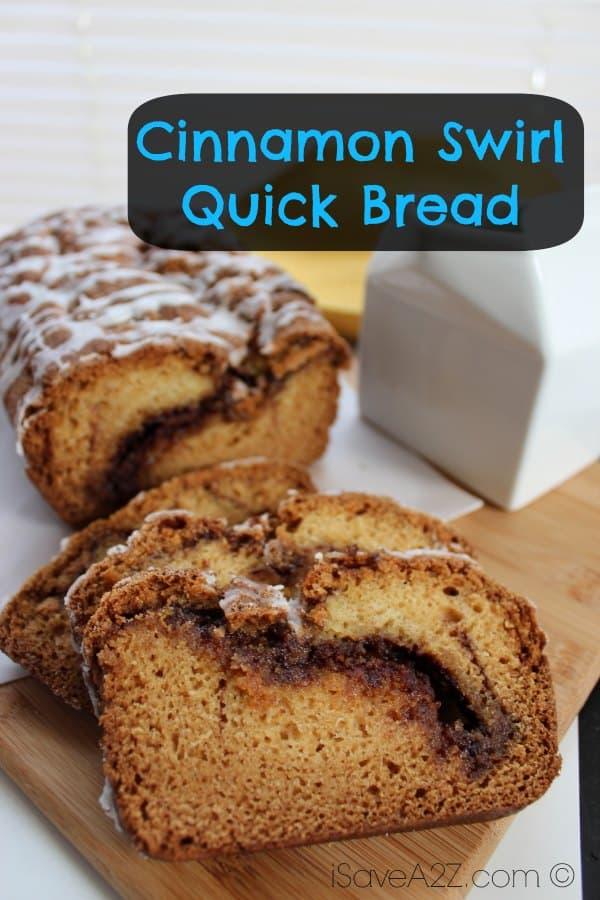 Cinnamon Swirl Quick Bread Recipe Isavea2z Com