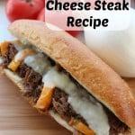 Crockpot Cheese Steak Recipe