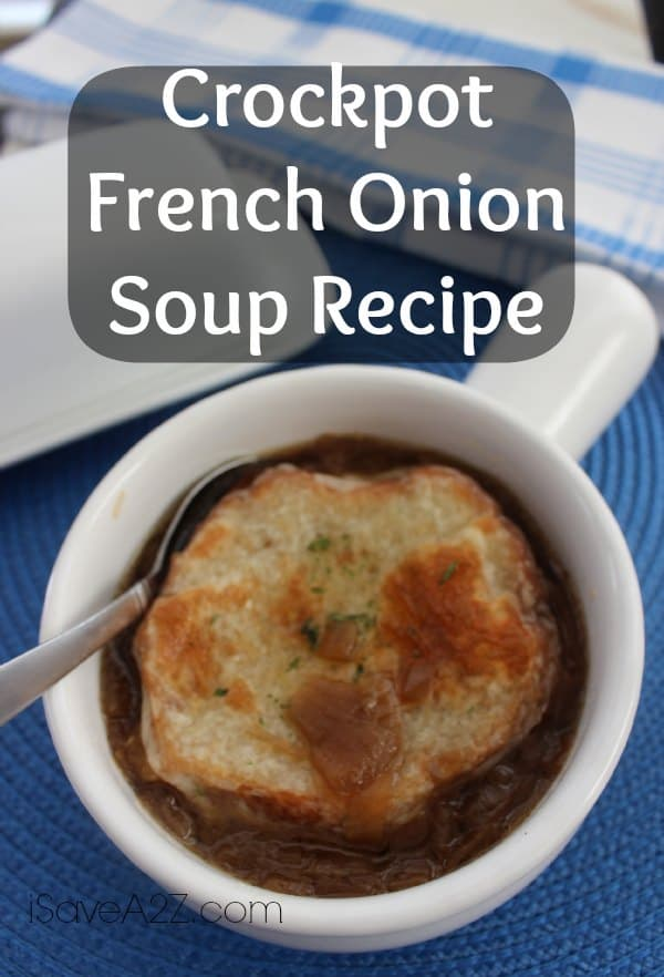 Crockpot French Onion Soup - iSaveA2Z.com