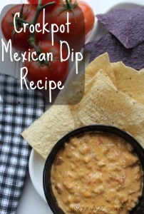 Crockpot Mexican Dip Recipe