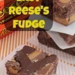 Easy Reese's Fudge