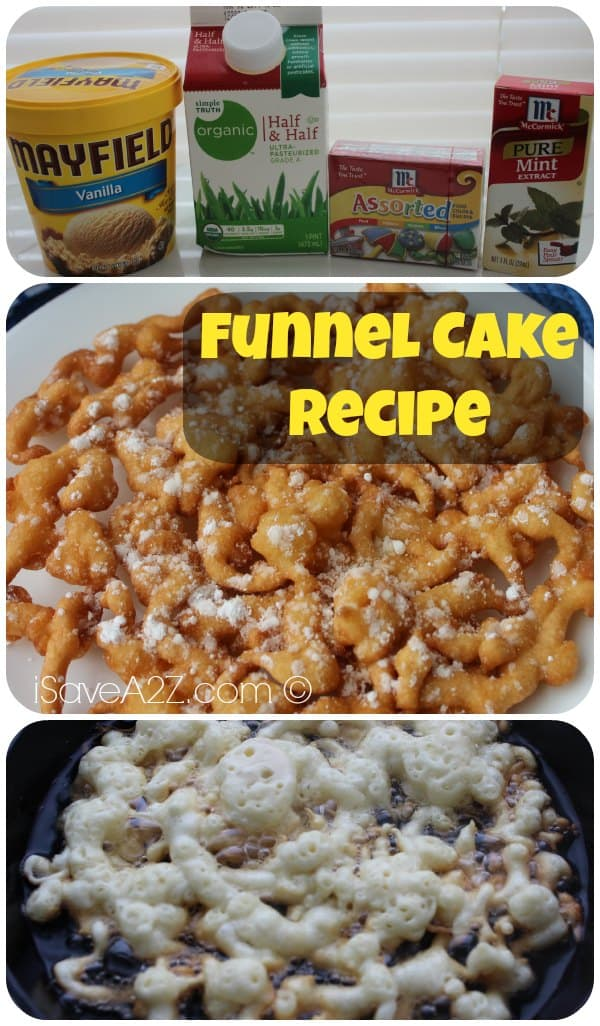 Funnel Cake Recipe - iSaveA2Z.com