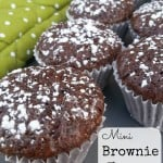 Weight Watchers Dessert:  Mini Brownie Bites Recipe (2 Points)