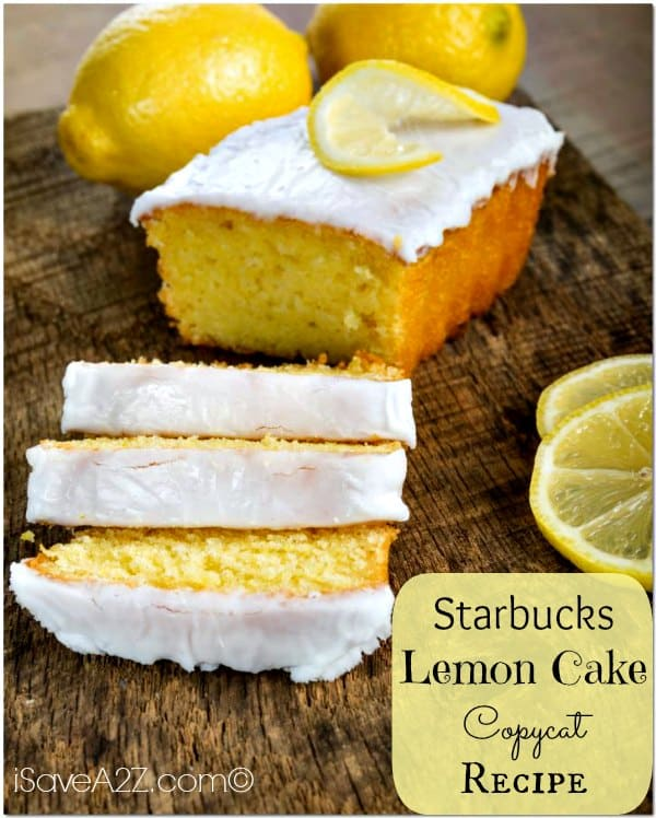 Starbucks Lemon Cake Copycat Recipe iSaveA2Zcom